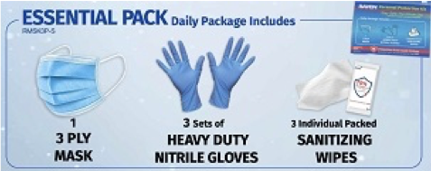 Personal Protection Kit- Office Pack 1