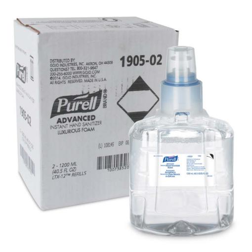 Purell Foam Hand Sanitizer Refill (LTX-12) 2