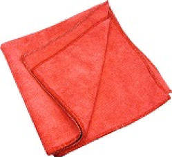 Red 16X16 Microfiber Towels 1