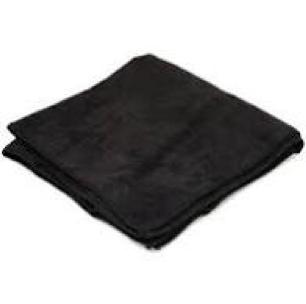 Black 16X16 Microfiber Towels 1