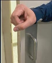 Hands Free Door Opener--Forearm 1