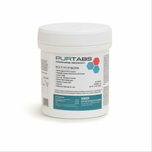 Purtabs Disinfecting Tablets 3.3G 2
