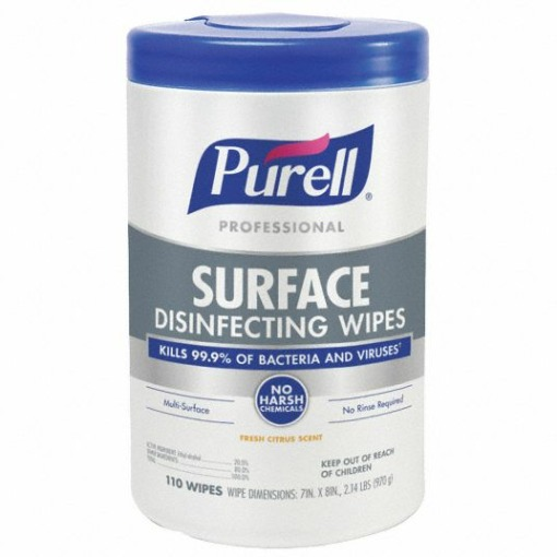 Purell Surface Disinfecting and Sanitizing Wipes 1